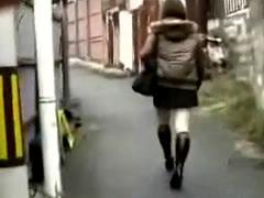 Asian Woman Groping