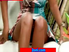 Hotty Blonde Lady Accident Upskirt On Tv