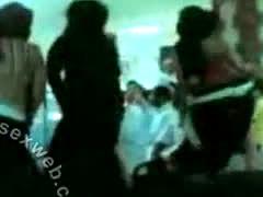 Arab Hijab Horny Group Dance-asw395