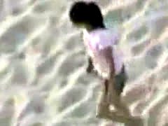 Teens Caught Pissing At Beach