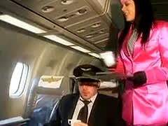 Cfnm Stewardess Action Dorcel Airlines First Class