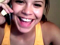 18yr Cute Teen At Webcam