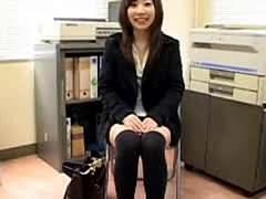 Japanese Cfnm One Girl-watches-him-jerk
