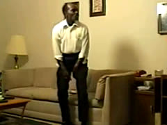 Husband Forces Wife To Fuck An Old Black Dude With