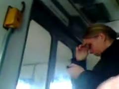 Masturbation Public Transport 22