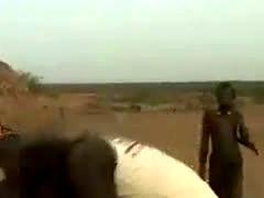 Japan Journalist Girl Get Fucked In Africa