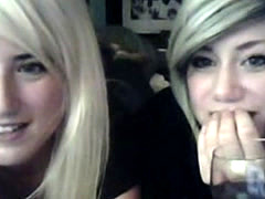 Two Young Blonde Lesbians