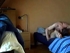 French Couple Hidden Cam Fuck