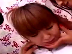 3 Cute Japanese Girls Kiss And Play