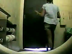 Spycam Records Girls Pissing In Bathroom