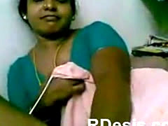Chennai Indian Sexy Maid Play With Houseowner