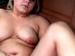 Chubby German Amateur Sandra Fucking Her High Heel