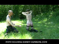 Video Fetish Sm Bdsm Soumise Sandy Seance Badine