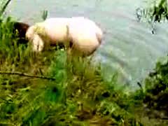Milf Nude On The Lake 2