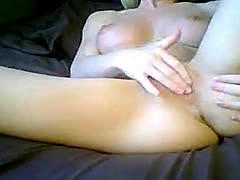 Hot Blonde Masturbating 2