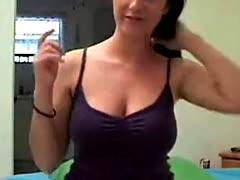 Hot Teen With Big Tits Strips On Stickam
