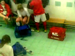 Gym Locker Room Hidden Spycam