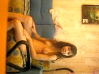 Young Girl Shows Herself All