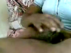 Southindian Housewife Prepare Her Hubby's Cock