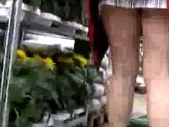 Upskirt Without Underwear Flashing Ass And Pussy Outdoors 3