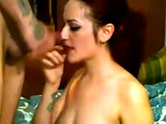 Sexy Girl Sex And Facial On A Webcam Show