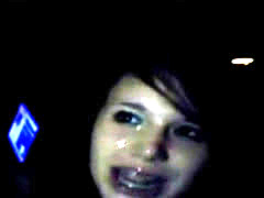 Young Girl Receives Three Facials At Gangbang