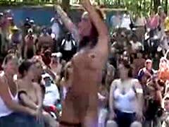 Insane Outrageous Public Sex Party