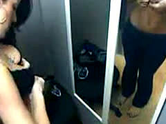 Cutie In Changing Room Caught On Spy Cam