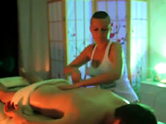 Busty Russian Masseuse Gives Hot Cfnm Salome Tantric Massage