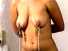 Sub Wife Gets Varous Painful Boobs Trainings