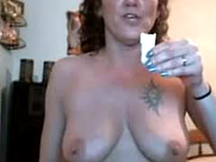 Mature Australian Rita Plays On Home Webcam
