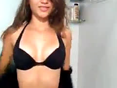 Striptease Novinha - Brazilian Teenager Striptease