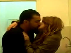Moroccan Lovers Kissing Before Sex