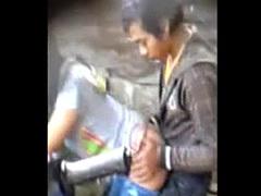 Voyeur Motorcycle Sex Caught on Camera
