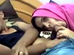 Arabian BJ In Hijab On Webcam-ASW1077