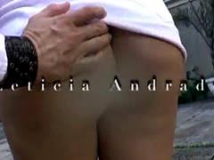 Ts Angel Cortez bangs ts Leticia Andrade
