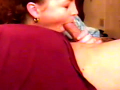 Devoted blowjob my 48 years old Wife Maggie