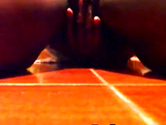 Hot squirting on floor