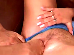 Lover fisting and sex her ass