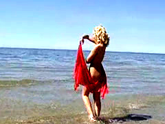 elze - beutifull girl from lithuania in beach