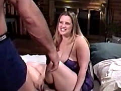 chunky girl gets fuckt by a big guy