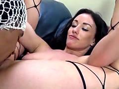 Pornstar rides black cock