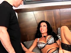 Veronica Avluv sucking and fucking with John Strong