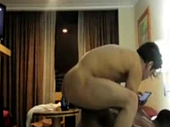 Interracial Gay Hotel Fuck