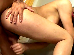 Tight ass of tranny girl is fucked