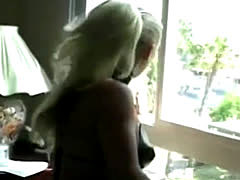 Blonde Femdom Fucks Guy Rear