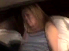Blonde Crack Whore Point Of View Sucking On Dick