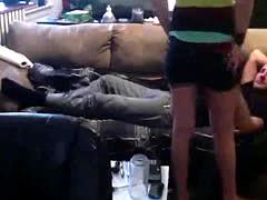 Hidden camera amateur teen home sex video