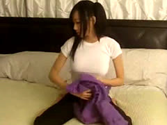 Perfect Asian Webcam Teen Playing