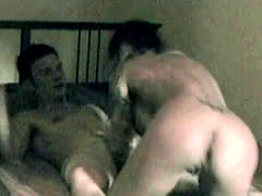 Cheating Brunette Caught On Hidden Camera Getting Drilled In Motel